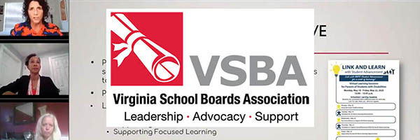 Zoom capture with VSBA logo